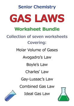 Gas Laws - Discount Bundle SAVE 40%