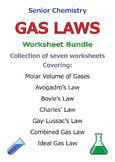 Gas Laws - Discount Bundle SAVE 40%