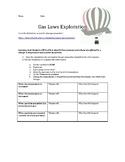 Gas Laws Exploration Online Lab