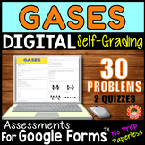 Gas Laws & Gas Properties ~ Self-Grading Quiz Assessments