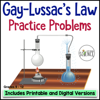 Gas Laws:  Gay-Lussac's Law Homework