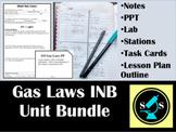 Gas Laws INB Bundle (w/ Task Cards & Labs)