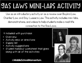 Gas Laws Mini-Labs Activity