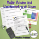Gas Laws: Molar Volume and Stoichiometry of Gases Practice Problems