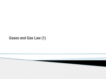 Gas Laws Powerpoint