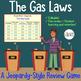 Gas Laws: Jeopardy Review / Quiz / Unit Exam Bundle