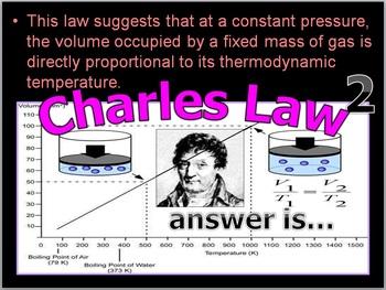 Gas Laws Quiz Game