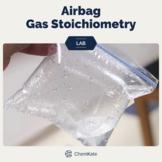 Gas Stoichiometry Airbag Lab