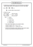 Gas Laws - The Ideal Gas Law