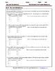 Gas Laws and Calculations - Worksheets & Practice Question
