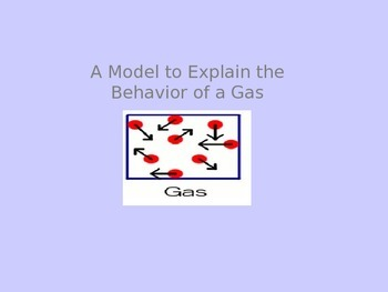 Gas Laws and Kinetic Molecular Theory