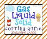 Gas, Liquid, Solid Sorting Activity