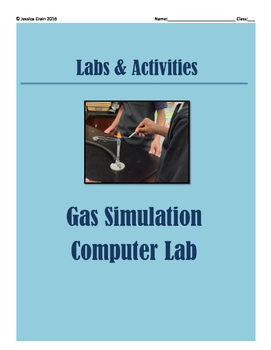 Gas Laws Activity: Simulation Computer Lab