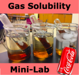 Gas Solubility Mini-Lab with Coke