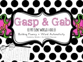 Gasp & Gab {Fry Sight Words 1-100} for building Fluency + Word Automaticity
