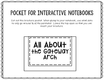 Gateway Arch Research Project Brochure Template, Geography, History