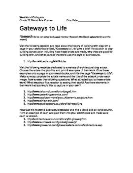 Gateways to Life