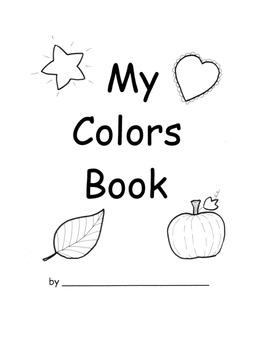 Kindergarten Gather Information Colors Book Writing Activi