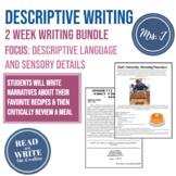 Gather Together 2 Week Writing Unit: Focus on Sensory Deta