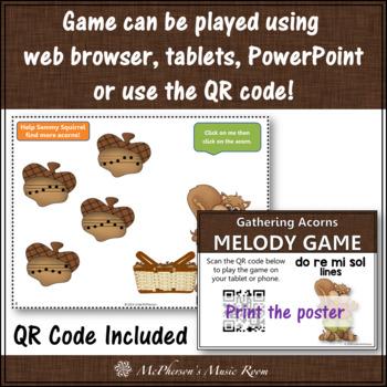Gathering Acorns Do Re Mi Sol - Interactive Melody Game