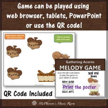 Sol Mi Interactive Melody Game {Gathering Acorns}