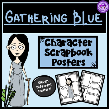 Gathering Blue Character Scrapbook/Posters