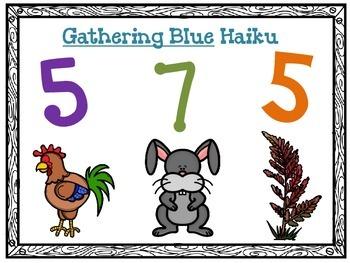 Gathering Blue Haiku (Lois Lowry)