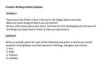 Gathering Blue Novel Study Guide