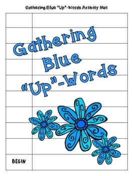 "Gathering Blue ""Up-Words"" Activity (Chapter 4)"