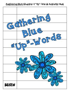 "Gathering Blue ""Up-Words"" Activity (Chapter 9)"