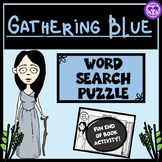 Gathering Blue Word Search Puzzle (Lois Lowry)