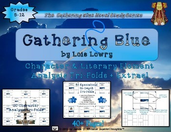 Gathering Blue by Lois Lowry Activity Bundle