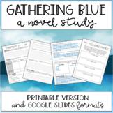 Gathering Blue by Lois Lowry (Novel Study)