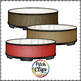 Gathering Drum - Circle Group Drum (Clip art) - Commercial Use, SMART OK!