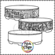 Gathering Drum - Circle Group Drum (Clip art) - Commercial