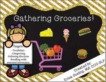 Gathering Groceries Game!