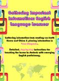 Gathering & Organizing Information: English Language Learners