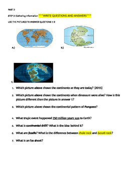 Gathering Information- Plate Tectonics