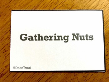 Open Ended Reinforcement Game Autumn Gathering Nuts Game