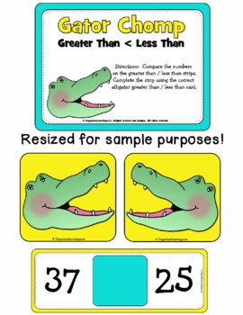 Gator Chomp - Greater Than, Less Than Learning Center