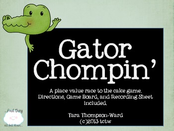 {Gator Chompin'} a place value game