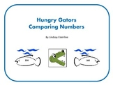 Gator Comparing Numbers Center Activity