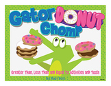 Gator Donut Chomp: Greater Than, Less Than and Equal To Ac