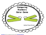 Gator Game Comparing Numbers Common Core Math  K.CC.4   1.