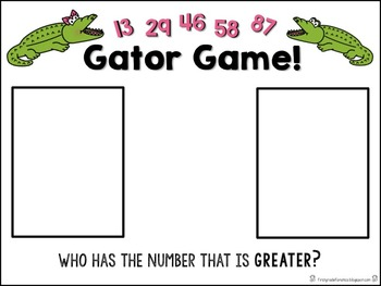 Gator Game (a number comparison game)