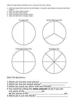 Gator Pie Fractions
