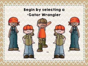 Gator Wranglers {A Bundled Set to Practice Rhythm}