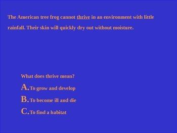 Gator Wrangler's Context Clues Jeopardy