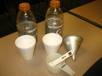 Gatorade Recipes Project for Ratios and Proportional Relat