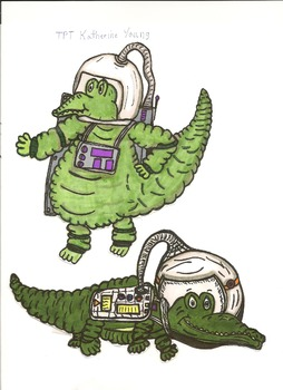 Gators In Space